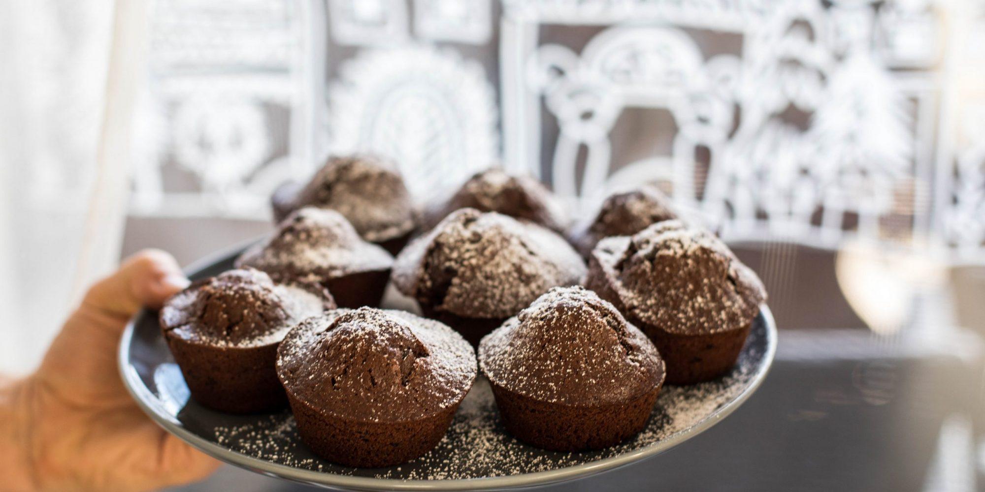 Muffins bearbeitet